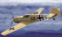 BF-109 Messerschmitt Luftwaffe WWII