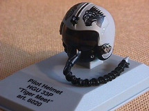 Pilot Helmet Tiger Meet 1:8 Scale Franklin Mint