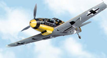 "BF-109 Messerschmitt Luftwaffe ""Tropical"" 5./JG 53"