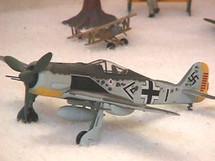 FW-190 Focke-Wulf Luftwaffe Priller