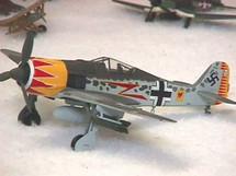 FW-190 Focke-Wulf Luftwaffe Graf