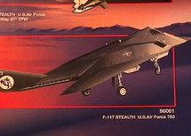 "F-117 Stealth USAF 783 ""Skunk Works"""