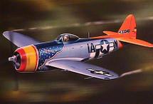 "P-47 Thunderbolt USAAF 366th FS ""Tarheel Hal"""
