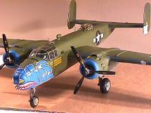 """B-25D Mitchell USAAF """"Hell's Belles"""""""