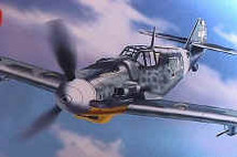 "BF-109 Messerschmitt Luftwaffe ""Capt. Mario Bellagambi"""