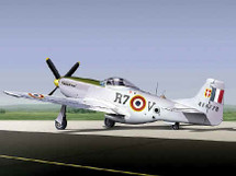 """F-6D Mustang Armee De L'air """"French"""""""