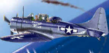 "SBD-3 Dauntless Dive Bomber U.S. Marine Corps ""Ace of Spade"""