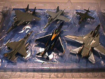 Collectors Set Modern Jet Set of Six