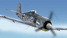 "FW-190 Focke-Wulf Luftwaffe ""Green Dragon"""