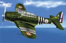 "A-24B Dauntless GCB of 1/18 ""Vendee"" A-24B"