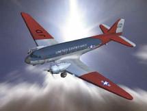 "C-47 Transport U.S. Naval Antarctic Explorer ""Kool Kiwi"""