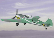 "BF-109 Messerschmitt Luftwaffe 111/JG 52""Black 13"""