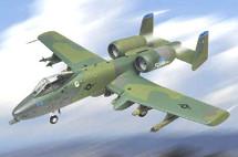 """A-10A Warthog U.S.A.F. """"Spirit of Fair Banks"""" 343rd TFW, August 1986"""