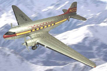DC-3 Douglas Western Airlines