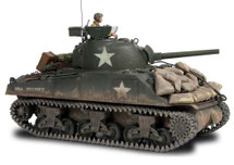 M4A3 Sherman Tank U.S. WWII Military Vehicle