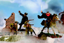 Soldier Russian Cossack Cavalry Division
