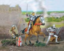 Figure Set Knights Figurines