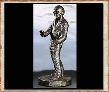 "Sculpted Figures ""Chopper Pilot"" Garman Sculptures"
