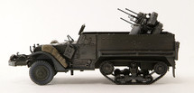 M16A1 Half-Track Armored Vehicle, Anti-Aircraft Variant