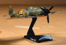 """Fw 190A Diecast Model Luftwaffe JG 54 Grunherz, """"Yellow 9"""""""