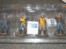 Metal Figures WWII British R.A.F./German Luftwaffe WWII Pilots