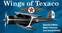 Beech Staggerwing Wings of Texaco #12 in the Series Special Edition Racing Champions & Ertl