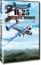 DVD B-25 Mitchell Bomber Roaring Glory DVD's