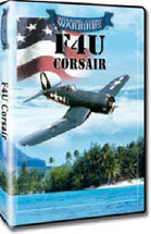DVD F4U Corsair Roaring Glory DVD's