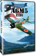 DVD A6M5 Japanese Zero Roaring Glory DVD's