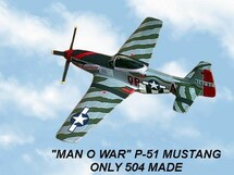 "P-51D Mustang ""Man O War"""