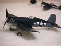 "F4U-1D Corsair US Marine Corps ""Sun Setter"" (Bank)"