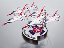F-16 THUNDERBIRDS FORMATION 1/72 6 MODELS