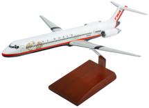 TWA MD-80 1/100 NEW LIVERY