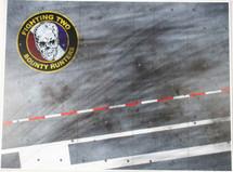 Display Base USN VF-111 Sundowners (small) 9x12 (accessories)