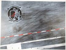 Display Base USN VFA-154 Black Knights (small) 9x12