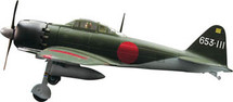 "A6M5 Zero Japanese ""Zeke"" 1:72 Witty Wings WTY-72001-8"
