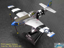 """P-51D Mustang USAAF Jack Young, """"Jumpin-Jacques"""""""