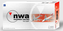 """B747-200F Northwest Cargo """"New Livery"""" + 747-200F """"Investing in Pacific Trade"""" ~ Twin Pack (Airline)"""