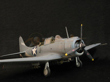 "SBD Dauntless - U.S. Navy ""Battle of Midway"" (Pre-Assembled)"