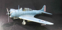 "SBD-3 Dauntless - USS Lexington ""Battle of the Coral Sea"" (Prebuilt Model)"
