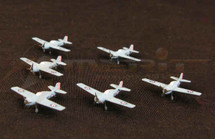 F4F-4 Wildcat - Battle of Midway, 1942, Set of Six (Pre-Assembled)