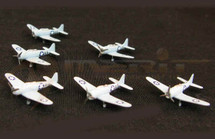 SBD Dauntless - Battle of Midway, 1942, Set of Six, Set of Six (Pre-Assembled)