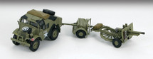 C8 Quad Artillery Tractor British Army 7th Armored Div Desert Rats, Normandy, 1944