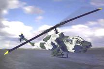 AH-1 J Cobra - U.S. Marines, Range 355 Miles, Max Speed 218 mph.