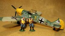 "Me-109e-3 - 6./JG51, Josef ""Pips"" Priller, Autumn 1940"
