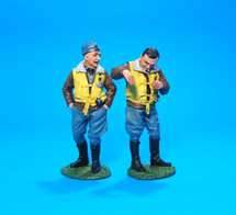 "German Pilot Josef ""Pips"" Priller and Wingman"