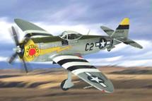 "U.S.A.A.F. Arkansas ""Blitz"" P-47D Thunderbolt, 396 FG, 368 FS, 9th AF, Pilot Lt. Col. Paul Douglas (WWII Ace)"