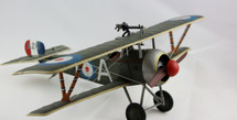 Nieuport 17, A213, Flown by Captain Albert Ball, No. 60 Sqn. RFC, Summer 1916