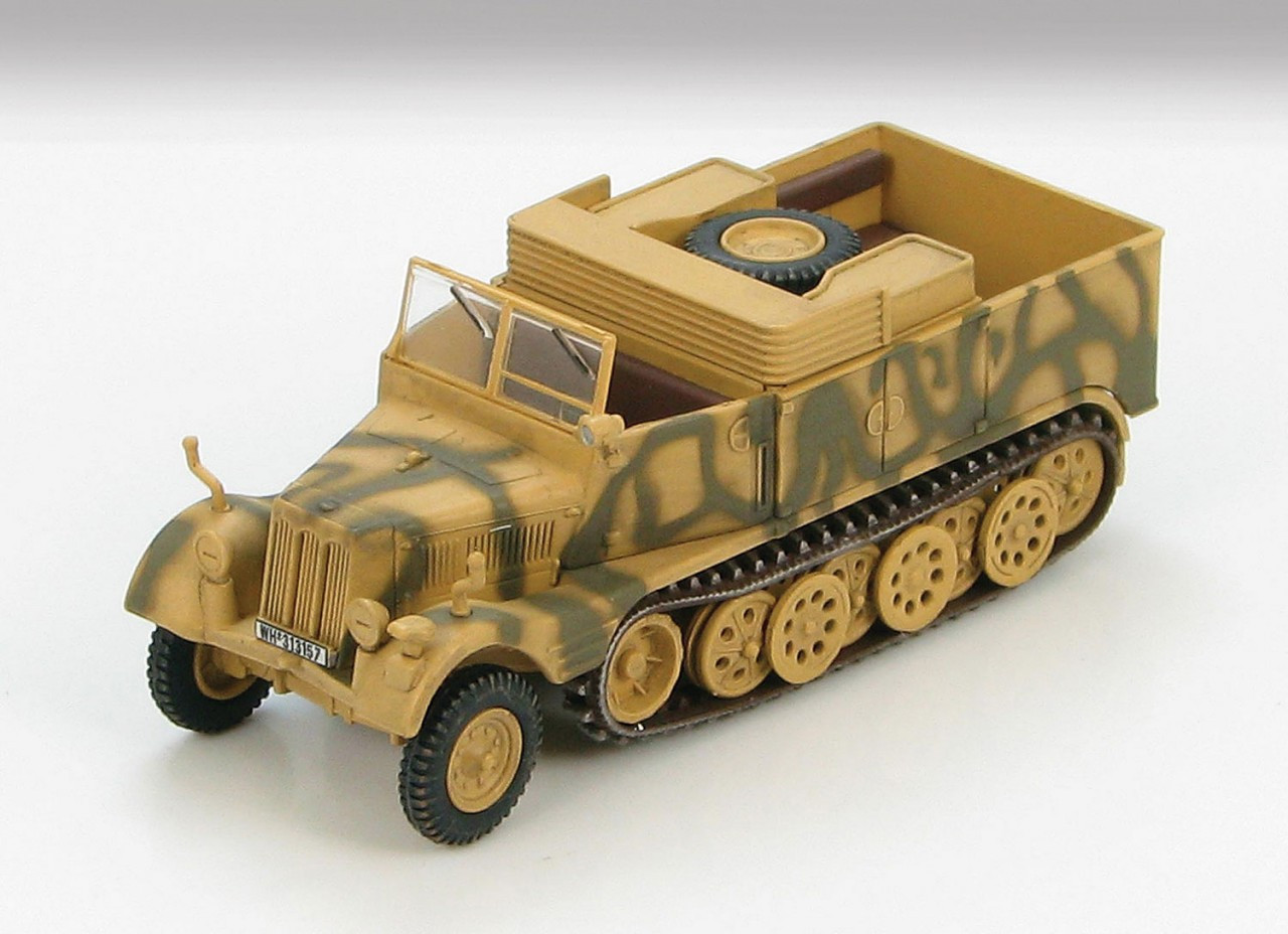 Sd.Kfz. 11/2 painted with the insignia of the Werfer-Lehr Regiment