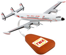 TWA SUPER G CONSTELLATION 1/85